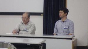 2015.6.6大江氏・岡西氏:化石研究会にてIMGP1514